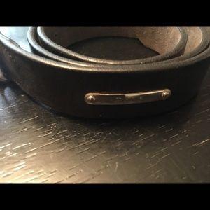 Ralph Lauren Polo Leather Belt Wide
